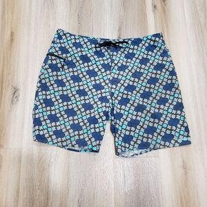 Patagonia shorts blue and grey swim Size 38